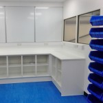 New QA Office and Lab Refurbishment Project installed by Acorn Works Ltd with office partitioning