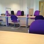 Office Refurbishment Project including partition walls, new flooring, new furniture, new decoration